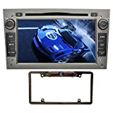 opel astra mirror - YINUO 7 inch Android 7.1.1 Quad Core 2 Din Car Stereo HD Touchscreen Car Radio Receiver DVD GPS Navigation for OPEL Vauxhall Astra Antara Corsa. Mic 8GB Map Card and Night Vision Camera