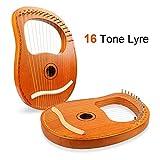 Mr.Power 16 Metal Strings Lyre Harp Ancient Greece