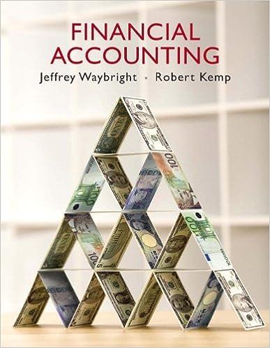 Financial accounting jeffrey waybright robert kemp 9780136060482 financial accounting 1st edition fandeluxe Images