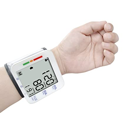 Amazon.com: Elera Digital Automatic Blood Pressure Monitor& Meter Sphgmomanometer (Wrist): Health & Personal Care