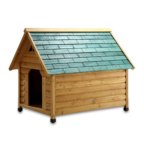 Pet Squeak Alpine Lodge Dog House, Large