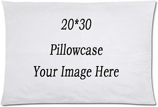 Amazon.com: RR&DDXU - Funda de almohada personalizada, funda ...