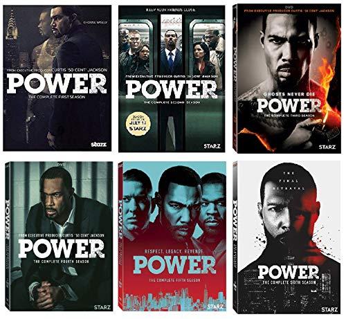 Power Complete Series DVD Season 1-6