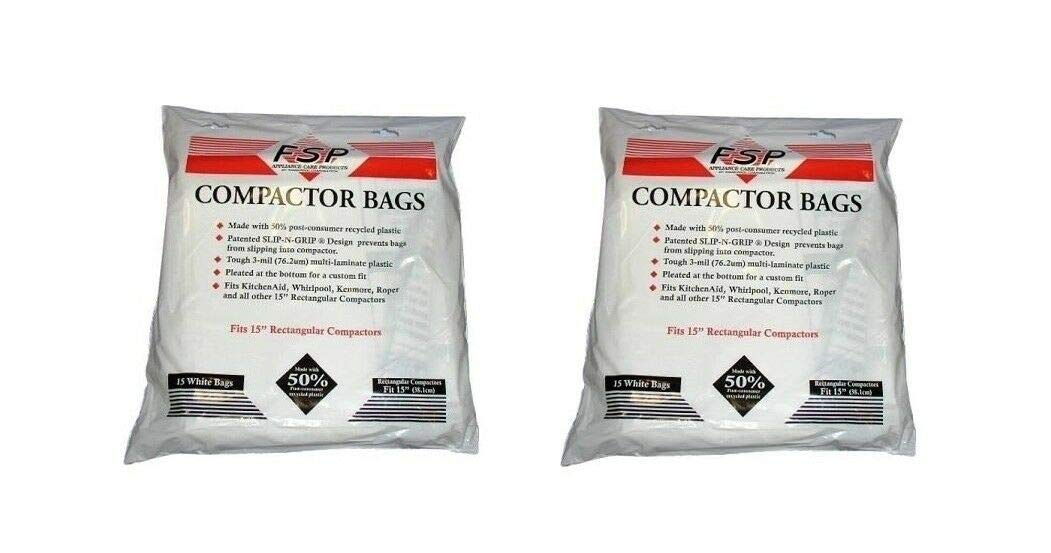 Jеnn-Аіr Trash Compactor Bags with Holes 30-Packs 15inch Plastic