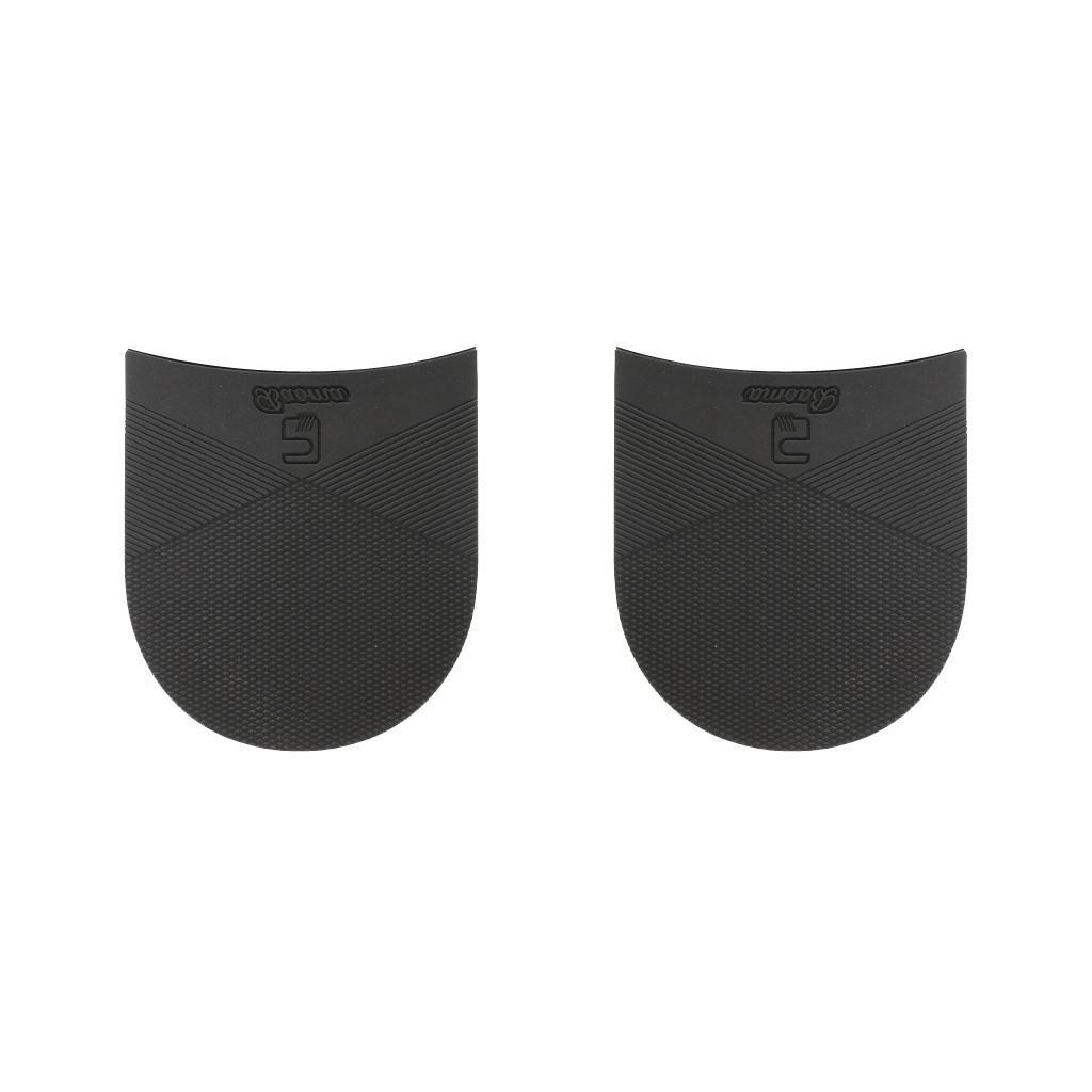 1 Par Plantillas De Caucho Talón Anti Slip Reparación De Calzado Negro Espesor 6,5 Mm # 3 Generic STK0155010489
