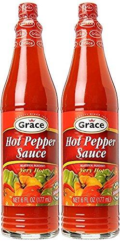 Grace Hot Pepper Sauce 6oz 2pk - Jamaican Hot Pepper Sauce