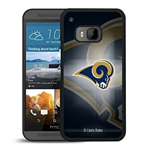 Popular HTC ONE M9 Case, Beautiful Designed Case With St Louis Rams 16 Black HTC ONE M9 Cover