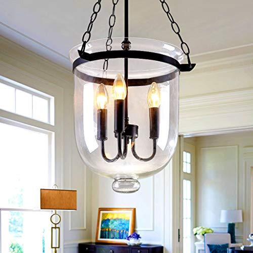 Small Bell Jar Pendant Lights