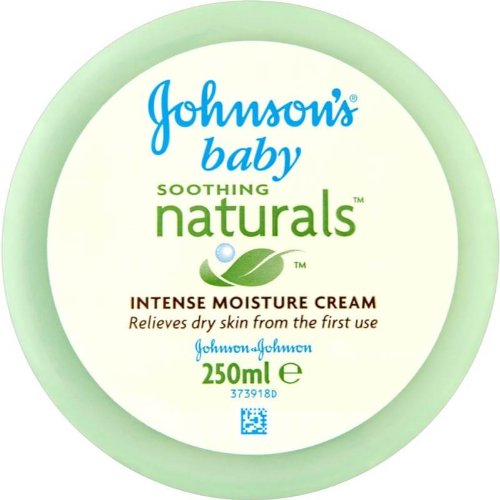 Johnson'S Baby Soothing Naturals Intense Moisture Cream 250Ml - Pack Of 4 Johnson & Johnson
