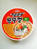Paldo Spicy Jumbo Bowl Noodle 3.88 Oz (Pack of 12)
