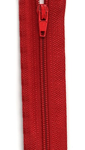 Sullivans Make-A-Zipper Kit, 5-1/2-Yard, - Red Zipper