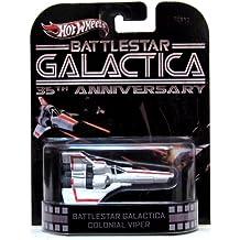 Hot Wheels Retro Battlestar Galactica 35th Anniversary 1:64 Die Cast Vehicle Colonial Viper
