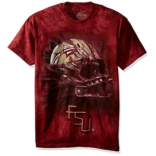 low-cost The Mountain Men s Florida State U Fsu Bt Helmet Adult T-Shirt c8ddd01f8