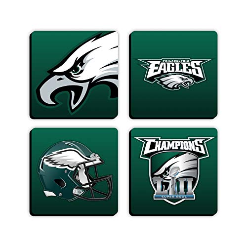 Philadelphia Eagles Set of 4 Square 3.5