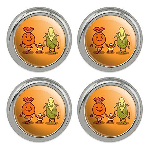 Candy Corn Family Halloween Metal Craft Sewing Novelty Buttons - Set of (Candy Buttons Costume)