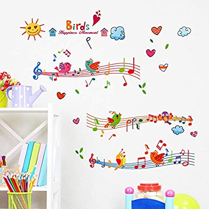 Amazon.com: Wall Sticker SoungNerly Simple Creative Living ...