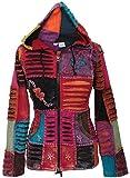 SHOPOHOLIC FASHION Pixie Hooded Razor Cut Ethnic Hippy Hoody Boho Jacket