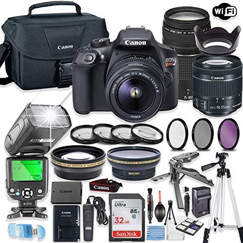 Canon EOS Rebel T6 (Kit) Black
