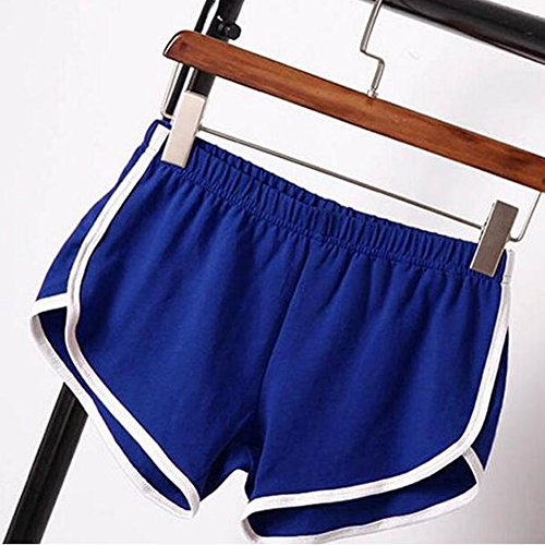 Cintura Short Pantaloni Dance Pantaloncini Pantaloni donna Hibote ginnastica Hot da da Yoga Fitness Pantalone Gym Mini Rnqwv0x