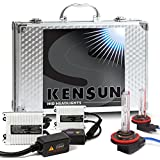 """55w Kensun HID Xenon Conversion Kit """"All Bulb Sizes and Colors"""" with Digital Ballasts - H11 - 6000k"""