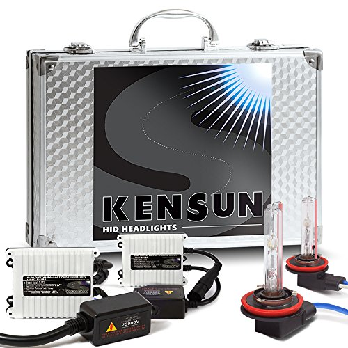 "55w Kensun HID Xenon Conversion Kit ""All Bulb Sizes and Colors"" with Digital Ballasts - H11 - 6000k"