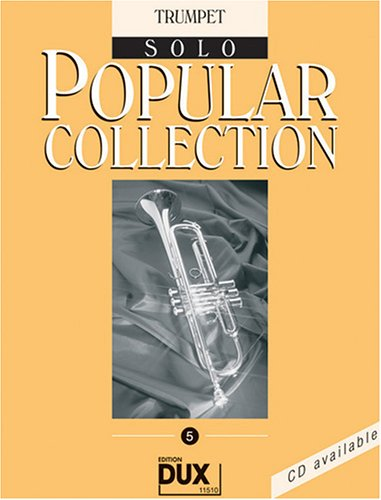 Popular Collection 5 Trompete Solo