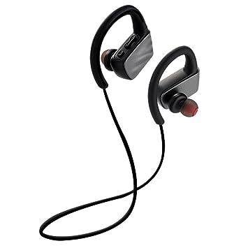 FCXJTU Auriculares Bluetooth, inalámbricos, deportivos, con ...