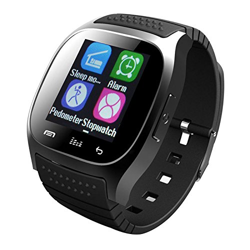 Smart Watch Touch Screen Anti-Lost Camera Remote Pedometer Fitness Tracker Wristwatch Phone Compatible Android iOS System Samsung LG HTC iPhone 8 7 6S