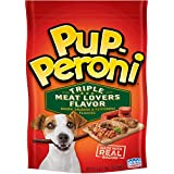 Pup-Peroni Original Triple Meat Lovers Flavor Dog Snacks, 5.6-Ounce (Pack of 8)
