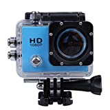 CP Bigbasket 1080P 12Mp Car Bike Helmet Cam Sports Dv Action Waterproof Camera, Color Assorted