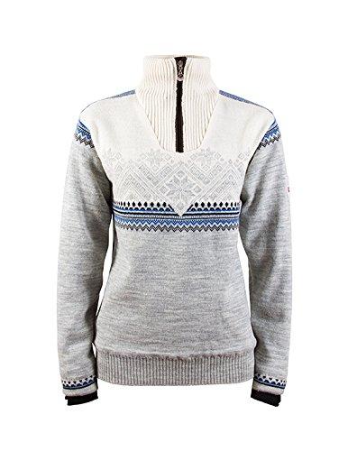 TALLA S. Dale de Noruega Glittertind Femenino de la Mujer de la Mujer Pullover Sweater