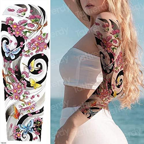 Las Mujeres tatuadas Tatuajes Grandes Tatuajes temporales para Las ...