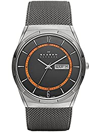 Men's SKW6007 Melbye Grey Titanium Mesh Watch