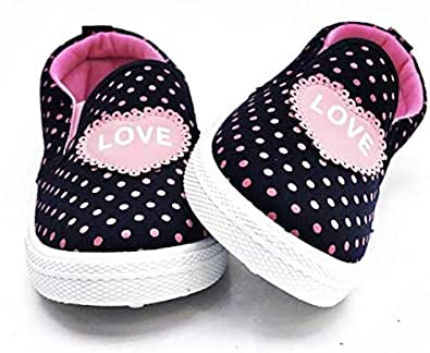 Dark Navy and pink girls shoes