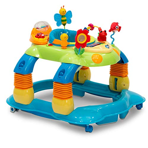 Delta Children Lil' Play Station 3-in-1 Activity Walker, - Combo Bouncer