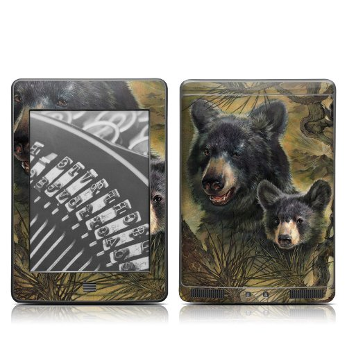Black Bears Design Protective Decal Skin Sticker for Amazon Kindle Touch / Touch 3G (6 inch Ink display with (964 Bear)