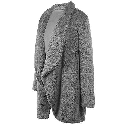 Outwear Capuche Manteau Capuche Vicgrey Veste Mode Casual Manteaux ❤ Gris Parka Hiver Veste À Femme Longue Peluche Automne Cardigan À En 0AqHfw