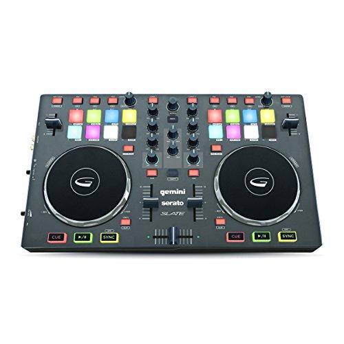 Gemini SLATE 2-Channel Slim Virtual DJ - Controller Gemini