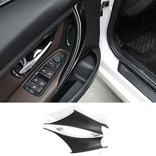 TTCR-II Door Handle Inner Trim Decor for BMW 3/4 Series, Right/Left Door Handle Pull Strap Inner Bracket Compatible with BMW 320,328,330,335,M3 F30/F31 2012-2018 and BMW 428, 435,M4 F32/F36 2014-2017