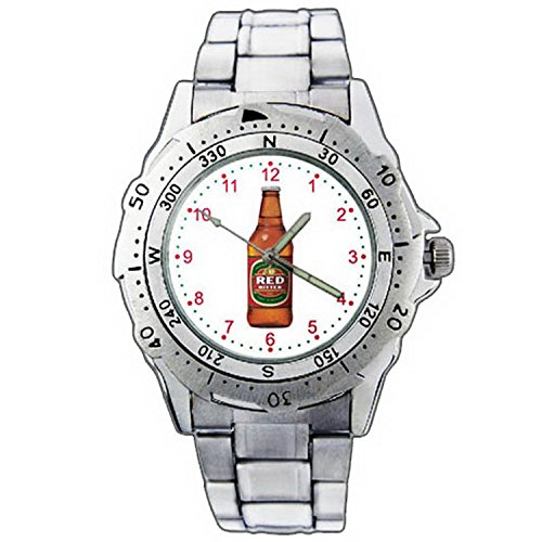 mens-wristwatches-pe01-1293-tooheys-red-bitter-master-brewed-stainless-steel-wrist-watch