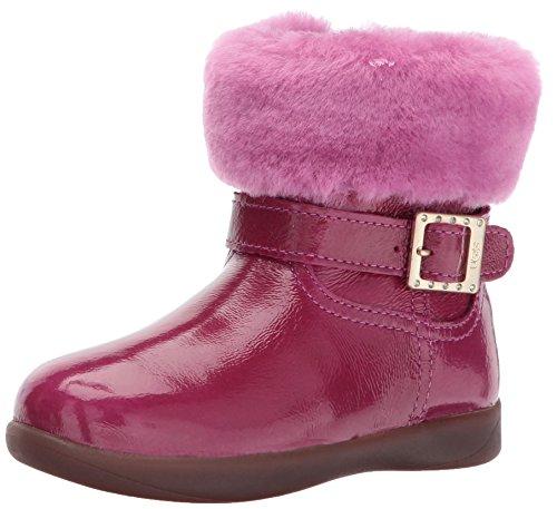 UGG Girls' T Gemma Boot, Victorian Pink, 7 M US Toddler