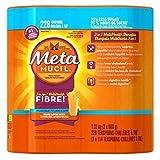 Metamucil Smooth Texture 75% Less Sugar Orange Psyllium Fibre - 2 x 114 dose