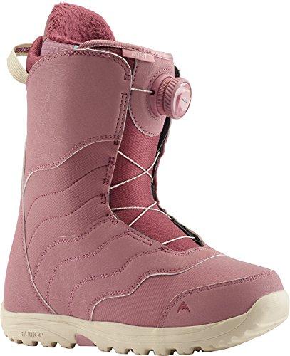 Burton Mint BOA Snowboard Boots Dusty Rose Womens Sz 7
