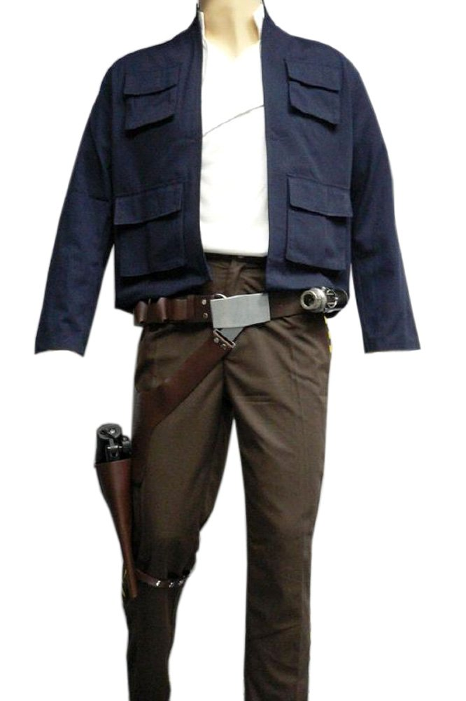 Star Wars Han Solo ESB Full Costume Belt Holster Droid Caller Set (L)