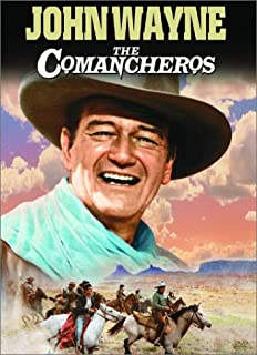 Book Cover:                                                                             The Comancheros