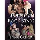 RADICAL ROCK STARS (A Five Book Set)