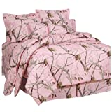 Realtree AP Pink X-Large Comforter Set, Twin
