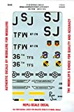 Repli Scale Decal 1:32 F-15 Eagle Wing Commander Aircraft 4 TFW 336 TFS #32-02