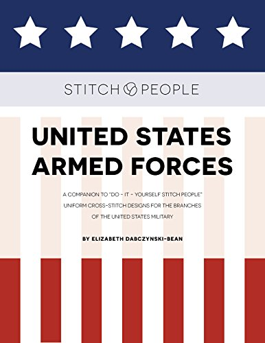 Stitch People United States Armed Forces by Beanski LLC
