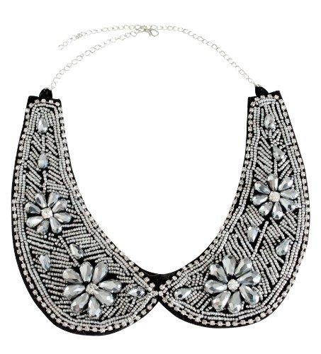 Simplicity Rhinestone Necklace Handmade Accessories
